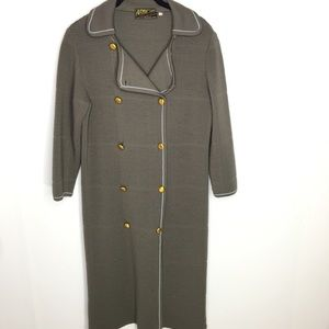 Arbe  Imports Vintage Wool Textured Dress Sz 10